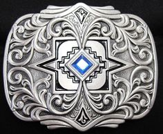 silver mayan numbered belt buckle set | Top 8 Tandy Belt Buckles