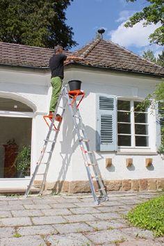 Gardenplaza - Aluminiumleitern unterstützen zuverlässig im Innen- und Außenbereich - Stabile Kletterhilfe