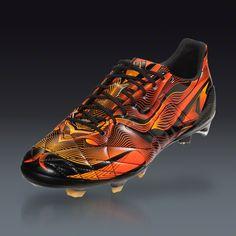 adidas 11pro Crazylight FG - Black/Solar Orange Firm Ground Soccer Shoes | SOCCER.COM $249.99