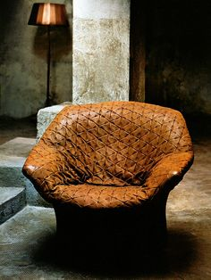 Pattern. Leather. Chair