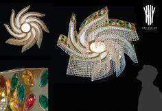 Crystal Ceiling Light, Ceiling Lights, Swarovski, Decorative Lighting, Led, Light Decorations, Plating, Crystals, Design