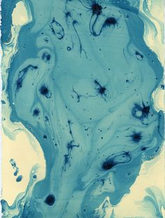 blue, blue green, yellow, yellow green marbled! by Lulu Wolf