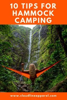 Tips for camping, backpacking, and hiking with a hammock.