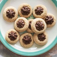 The marriage of chocolate and peanut butter keeps this recipe on the list of all-time favorite Christmas cookies./