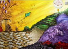 Título : Reconstrucción Obra de Arte en Oleo y Acrílico sobre tela.  Disponibilidad a la venta /For sale montserratmaciel.com