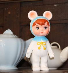 Christmas limited edition, Snow baby Woodland Doll by Lapin and me