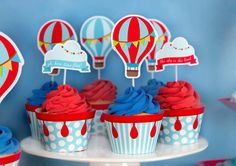 Wrap your cupcake with our cupcake wrappers and top them with this adorable cut out graphic cupcake toppers