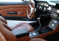 Great Interior Color Combo- Ron Lyon's 1967 Mustang Coupe