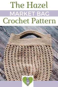 The Hazel Market Bag is the perfect accessory for the Spring and Summer! Perfect for trips to the park, beach, farmer's markets, or just the regular ole' grocery store! Read more to check out the free pattern! Bag Crochet, Crochet Market Bag, Crochet Clutch, Crochet Purses, Free Crochet, Corner To Corner Crochet, Yarn Bee, Advice For New Moms, Bag Pattern Free