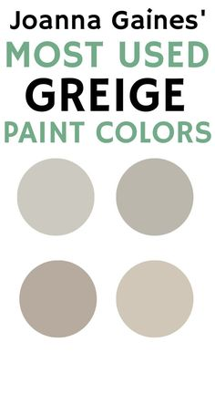 Best Greige Paint Color, Warm Gray Paint, Best Neutral Paint Colors, Farmhouse Paint Colors, Paint Colors For Home, House Colors, Cabinet Paint Colors, Wall Paint Colors, Griege Paint