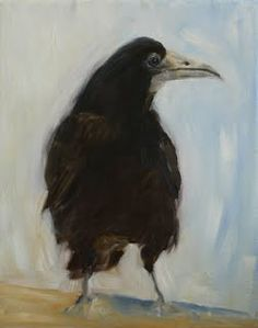 """Rook"" - by Carol Theologo Blackbird Singing, Bird Paintings, Crows Ravens, Blackbirds, Rook, Art Music, Easel, Bird Feathers, Art Images"