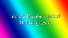 1k subscriber special