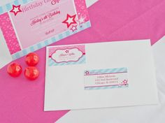 american girl doll party invitation