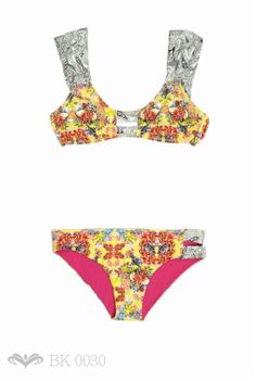 MALAI Type 3, Bikinis, Swimwear, Theater, Facebook, Collection, Fashion, Models, Orange