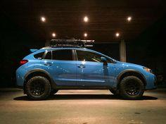 Subaru XV Crosstrek with lift More
