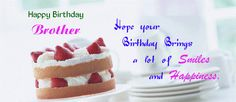 Birthday wishes for brother images and pictures