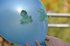 Static electricity with jumping frogs.