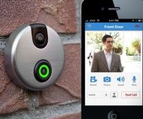 iDoorCam: Wi-Fi Camera Doorbell - Front door cameras have been around for ages, but a Wi-Fi enabled doorbell camera? Now that's something entirely new ...