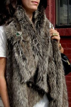 Erica Domesek from P.S. I Made This shows you how to make a chic faux fur vest. (How To Make Dress Christmas Gifts)
