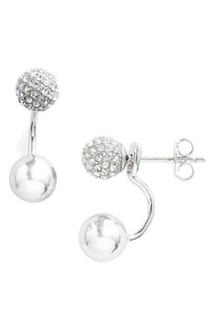 Free shipping and returns on Judith Jack 'Fireball' Ear Jackets at Nordstrom.com. Designed to frame your ears in multidimensional radiance, these sterling-silver ear jackets are bedecked in baubles—one softly polished and one sparkling with crystals.