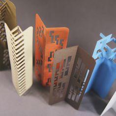 #bookmark #3D #orgammi #kiriorigami #popup #stationery #design #popup #paper #lasercut #bespok #idea #branding #marketing #costume #fold #FoldForm