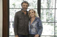 Domingos Montagner tomou café com Ana Maria Braga no Mais Você desta…
