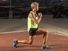 Erin Oprea (Carrie Underwood's trainer!) teaches you how to do this super-charged lunge for great legs!