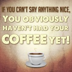 This is why we're quiet until we have our morning coffee. #Coffee #Funny #MrCoffee