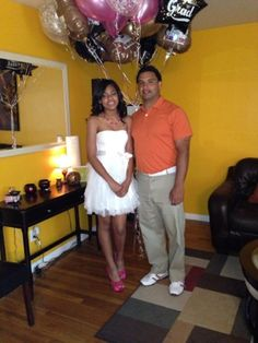 Proud dad, and Destiny's eighth-grade graduation.