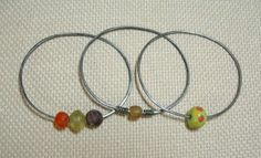 Soldering Steel Bangles and Hoops | Funky Hannah's, January 18, 2015