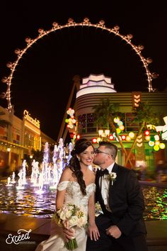 Las Vegas Wedding at Sam's Town Hotel and Gambling Hall (Amanda and Andy) - Las Vegas Event and Wedding Photographer, the linq weddings, High Roller Weddings