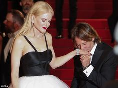 Daily Mail Australia takes a look back at the times in which Nicole Kidman, 49, and Keith Urban, 49, couldn't keep their hands to themselves.