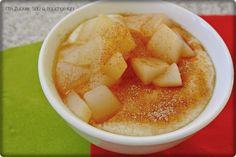 Mit Zucker, Salz & Bauchgefühl: {Montagsfrühstück bei Frau Zucker & Salz} Grießbrei & Birnenkompott