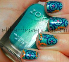 Summer fun nail art