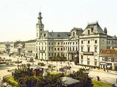 Warsaw Russia Empire 1871 (i.e Poland) Vintage Architecture, School Architecture, Architecture Plan, Warsaw City, Warsaw Poland, Monuments, Krakow, Town Hall, Old Town