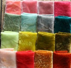 the adventures of bluegirlxo: hand dyed silk velvet at art group last night