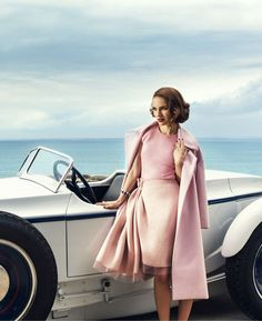 Natalie Portman | Photography by Norman Jean Roy | For Harper's Bazaar Magazine US | August 2015
