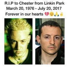 "R.I.P. Chester Bennington. It really sucks that he felt suicide was the way to go :( Linkin Park was probably the first ""alternative"" band that I really got into"