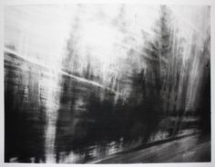 "Saatchi Art Artist: Marion Costentin; Charcoal 2014 Drawing ""Half Light #9 - Speed of Light"""