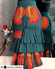 Trendy Ankara Skirt Styles For Ladies Women Fashion African Wear Dresses, Ankara Dress Styles, Latest African Fashion Dresses, African Print Fashion, Africa Fashion, African Attire, Ankara Skirt, African Print Skirt, Look Fashion