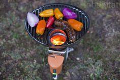 Biolite Camp Stove Grill Vegetables