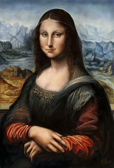 MonaLisa Digital Painting