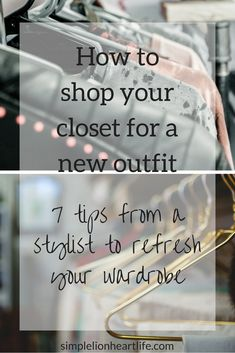 How to shop your closet for a new outfit
