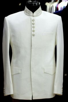 White Bandh Gala Jacket