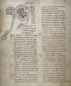 Book of Armagh, Chi Rho Page