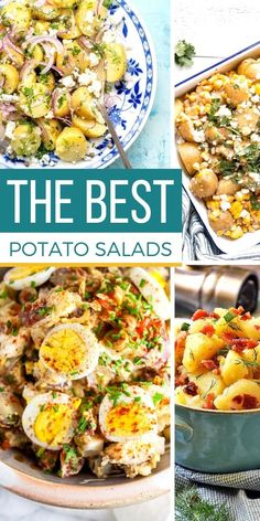 Nothing says easy picnic food like a classic potato salad! But have you ever realized just how many kinds there are aside from the traditional potato salad recipe? There is more than just one way to learn how to make potato salad! We share the best potato salad recipes for any occasion (especially as a part of your picnic food list!). #SundaySupper #potatosalad #potatoes #salads #picnic #potluck #bbq #easyrecipes #sidedishes #sides #easydinners #picnicrecipes #potluckrecipes…