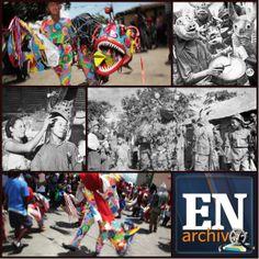 """Diablos Danzantes de Yare (1950) y Diablos Danzantes de Naiguatá (2013). Fotos (FRANCESCA COMMISSARI / FRANCISCO EDMUNDO """"GORDO"""" PÉREZ 7 ARCHIVO EL NACIONAL)"""