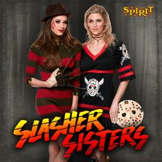 look scary good this halloween with your best friend