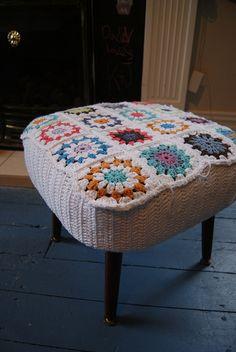 Crochet Stool Number 3 | Flickr – Compartilhamento de fotos!
