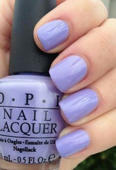 Im really loving the nail Polish brand O. P. I and love all the color choices it has..   #PURPLE #NAILS #OPIPOLISH